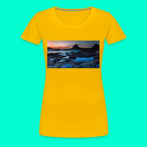 the best design - Women's Premium T-Shirt