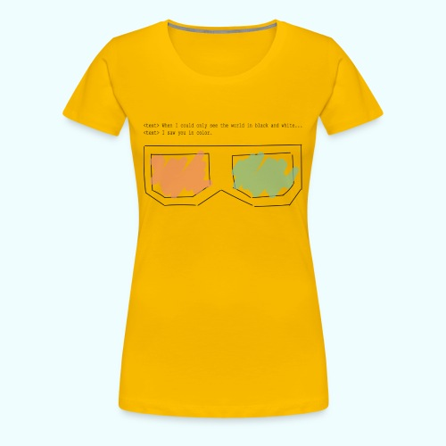 3D You - Women's Premium T-Shirt