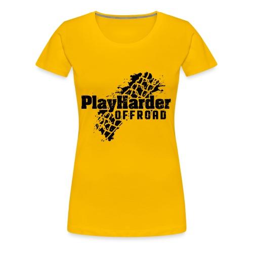 Black Logo - Women's Premium T-Shirt