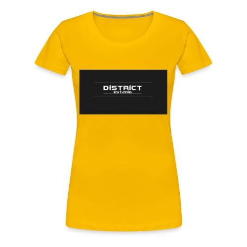 District apparel - Women's Premium T-Shirt