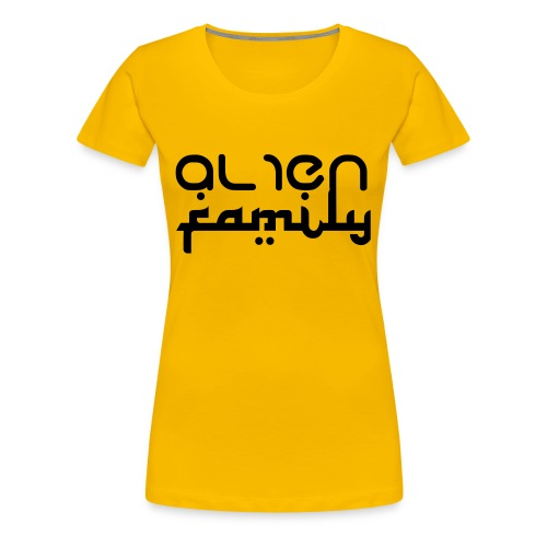 Alien Fam logo Tee - Women's Premium T-Shirt