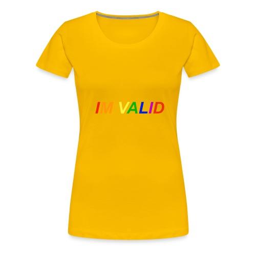 Im valid - Women's Premium T-Shirt