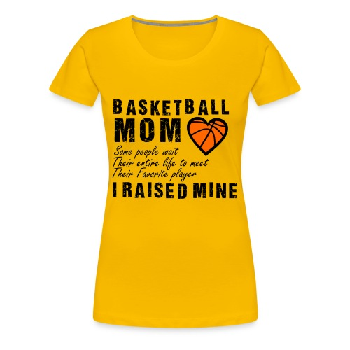 Basketball 113A - Women's Premium T-Shirt