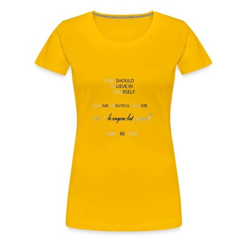 you be you lines - Women's Premium T-Shirt