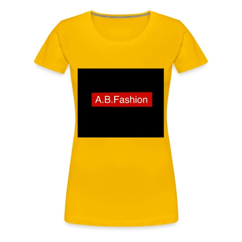 new a.b.fashion limited edition fashion product - Women's Premium T-Shirt