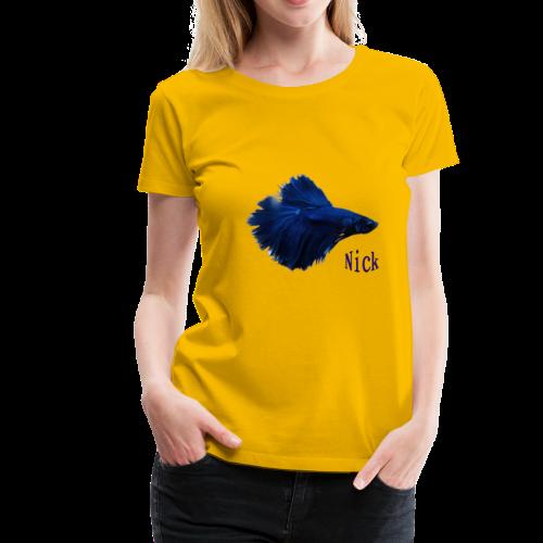 Nick Fish - Women's Premium T-Shirt