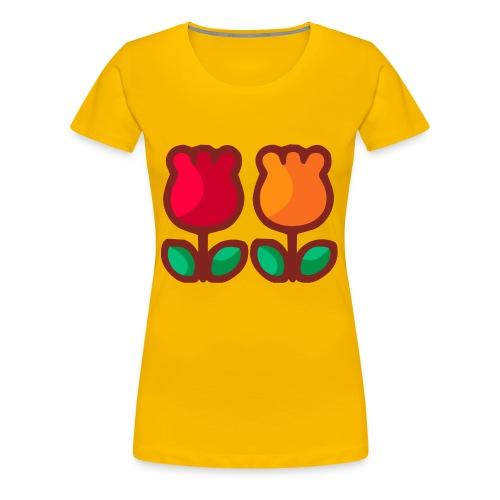 Loving Tulips - Women's Premium T-Shirt