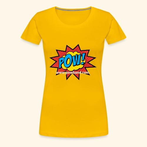 POW! Logo Shirt - Women's Premium T-Shirt