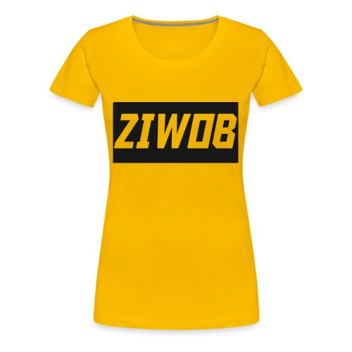 Ziwob shirt design - Women's Premium T-Shirt