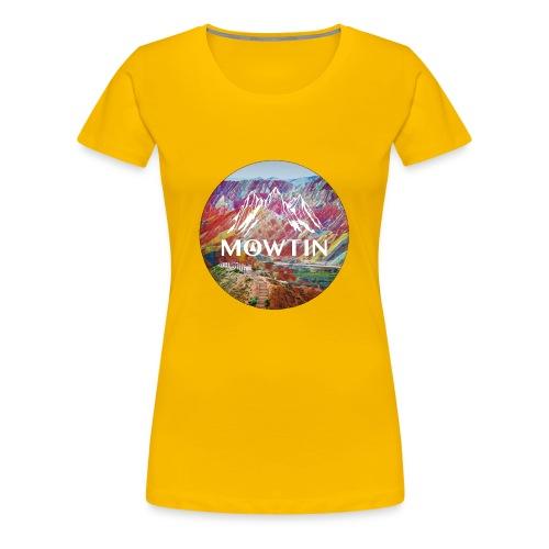 Rainbow_MOWTIN_Design_without_Background - Women's Premium T-Shirt