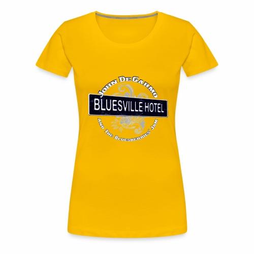 John DeGarmo and the Bluesberries Jam Merchandise - Women's Premium T-Shirt