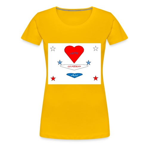 iNNOVA22SWAY LOVE CONQUERS ALL - Women's Premium T-Shirt
