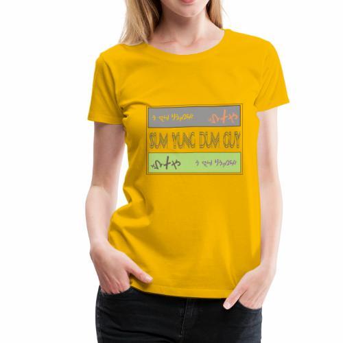 SYDG SQUARE - Women's Premium T-Shirt