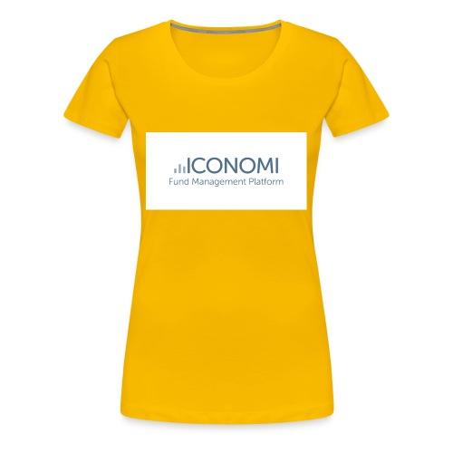 Iconomi - Women's Premium T-Shirt