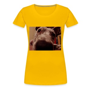 nosy puppy - Women's Premium T-Shirt