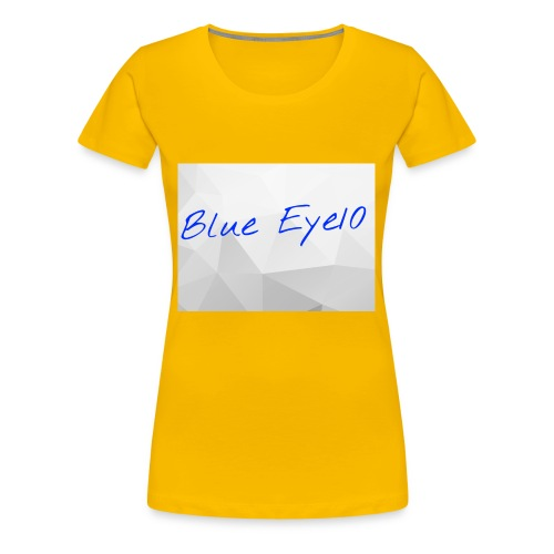 Blue Eye10 - Women's Premium T-Shirt