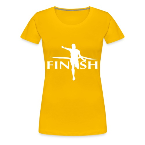 AC - Finish - Women's Premium T-Shirt