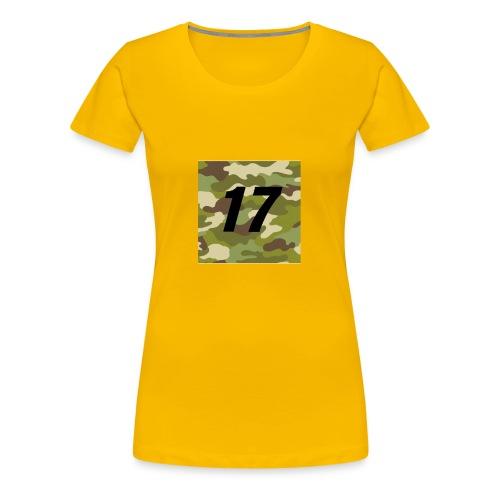 CAMO 17 - Women's Premium T-Shirt