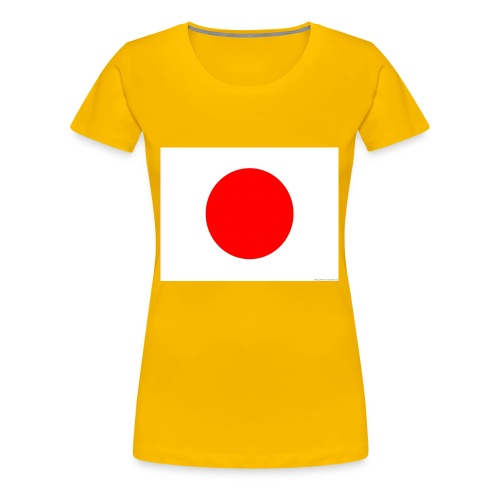 Japanese flag - Women's Premium T-Shirt