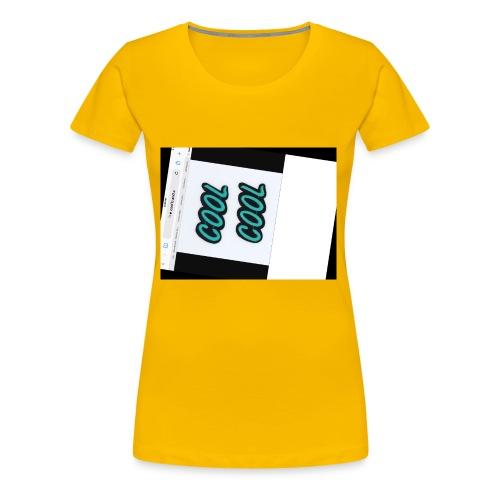 70F3EDA9 7548 4782 B971 A6459D04C0A2 - Women's Premium T-Shirt