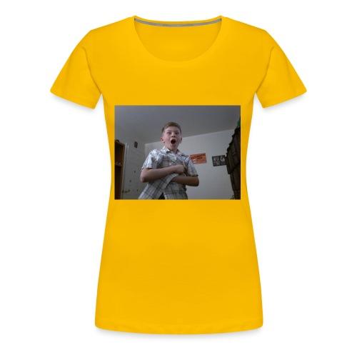 Xavier bongo hoodie/ wow - Women's Premium T-Shirt