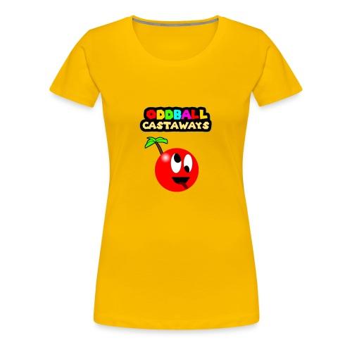 Oddball Mascot and Logo - Women's Premium T-Shirt