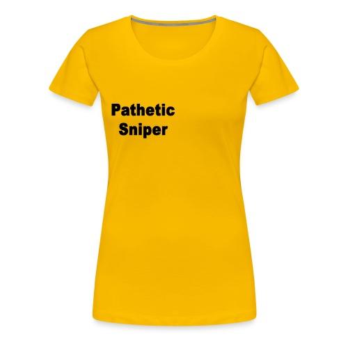 PatheticSniper Sweater - Women's Premium T-Shirt