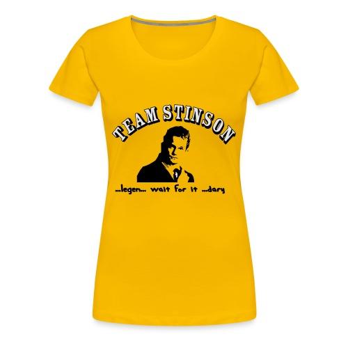 3134862_13873489_team_stinson_orig - Women's Premium T-Shirt