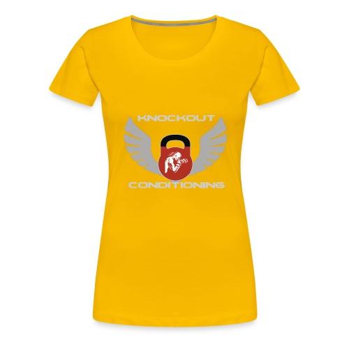 Knockout Conditioning - Women's Premium T-Shirt