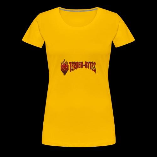 Terror-Bytes Fire Demo - Women's Premium T-Shirt