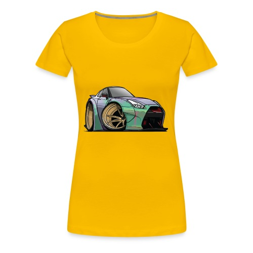 R35 GTR - Women's Premium T-Shirt
