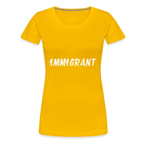 1MM1GRANT White - Women's Premium T-Shirt