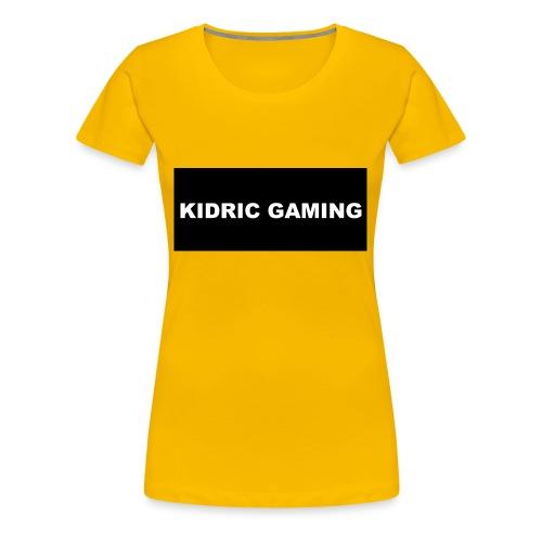 Kidric Gaming Hoodie - Women's Premium T-Shirt