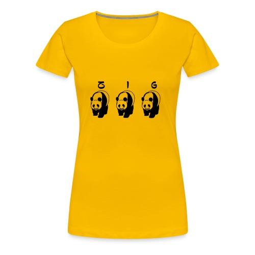 ZIGZIG PANDA - Women's Premium T-Shirt
