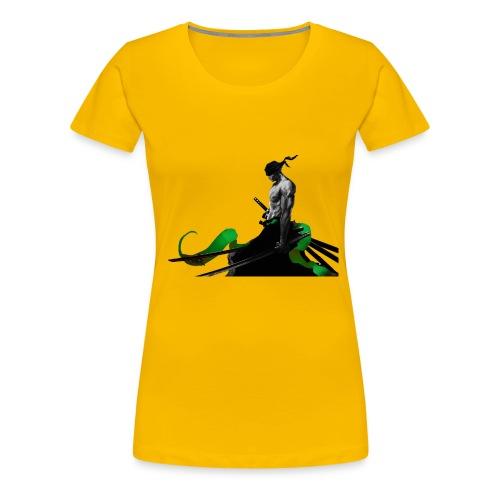 Roronoa Zoro - Women's Premium T-Shirt