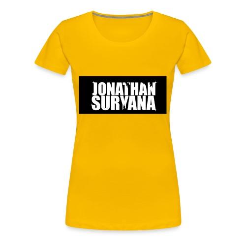 bling bling jonathan suryana - Women's Premium T-Shirt