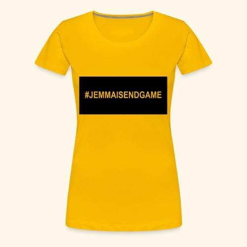 #JEMMAISENDGAME CASE - Women's Premium T-Shirt