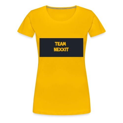 Team Nexxit Logo - Women's Premium T-Shirt