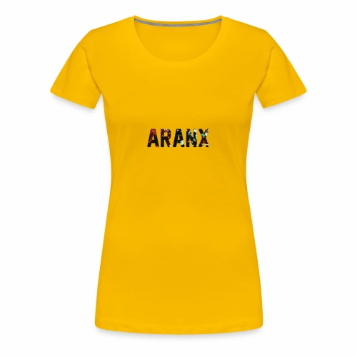Aranx Logo - Women's Premium T-Shirt