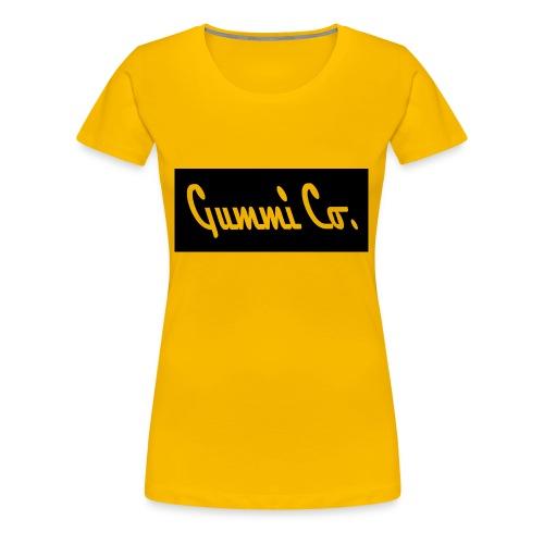 Gummi Co. Logo - Women's Premium T-Shirt