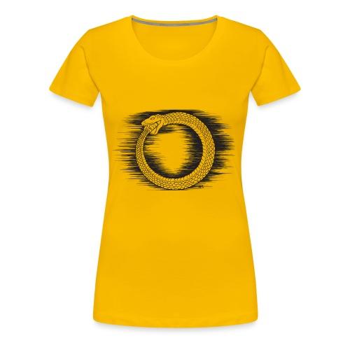 Ouroboros Revolutionary Symbol by KPC Studios - Women's Premium T-Shirt