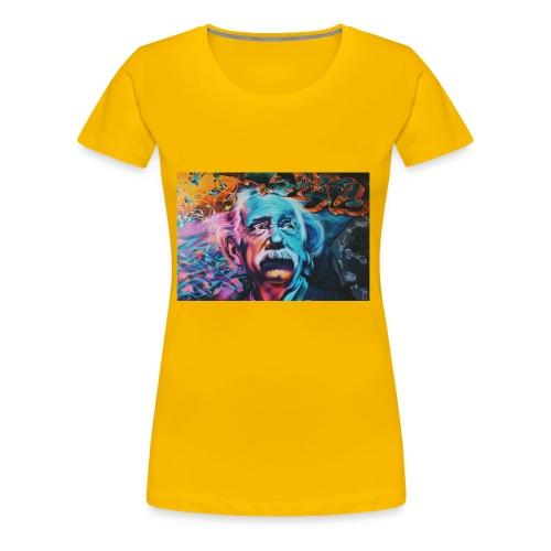 think - Women's Premium T-Shirt