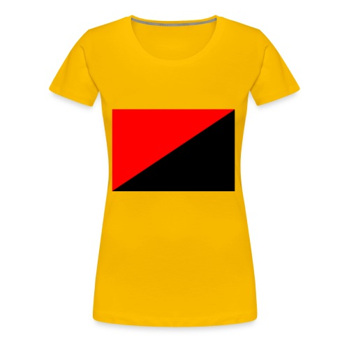 red and black - Women's Premium T-Shirt