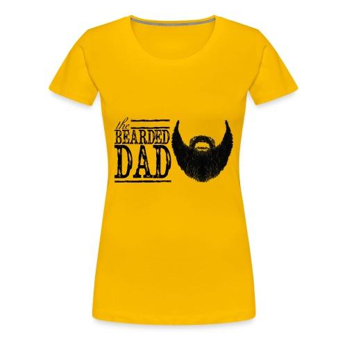 The Bearded Dad - Women's Premium T-Shirt