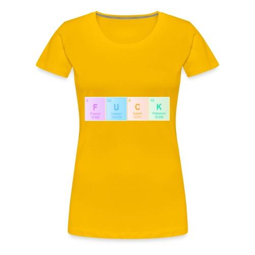 FUCK - Women's Premium T-Shirt