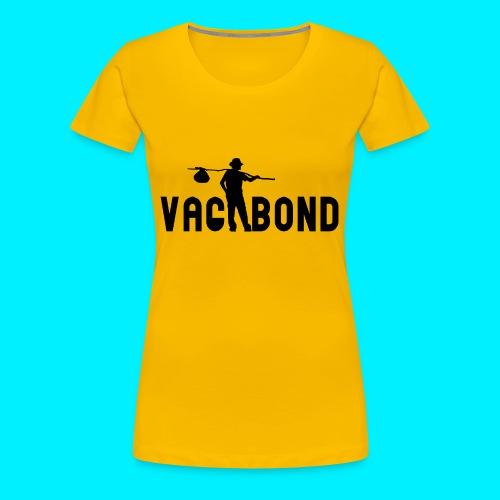 Vagabond Logo Wide - Women's Premium T-Shirt