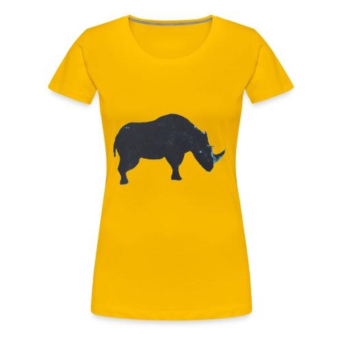 Rhino print - Women's Premium T-Shirt
