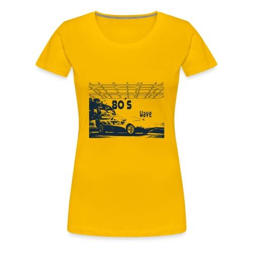 80s Car - 80´s Wave - Women's Premium T-Shirt