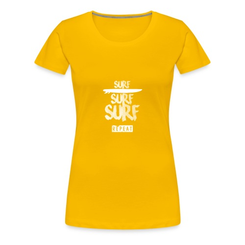 SURF - Women's Premium T-Shirt