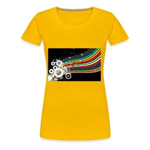 scrapbook desktop wallpaper cool designs design - Women's Premium T-Shirt